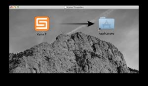 Kyma 7 Mac Installer